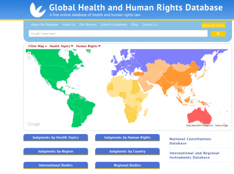 Global Health and Human Rights Database Homepage