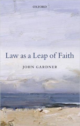 Law as Leap of Faith book cover