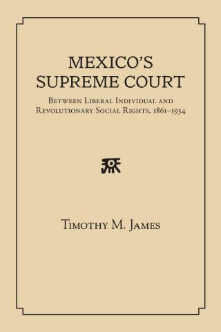 Mexico's Supreme Court book cover