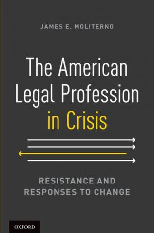 The American Legal Profession in Crisis book cover