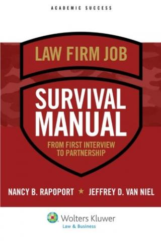 Law Firm Job Survival Manual book cover