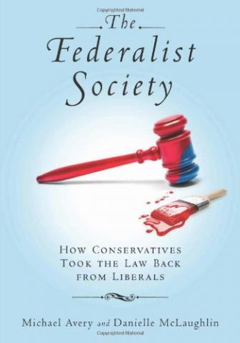 The Federalist Society book cover