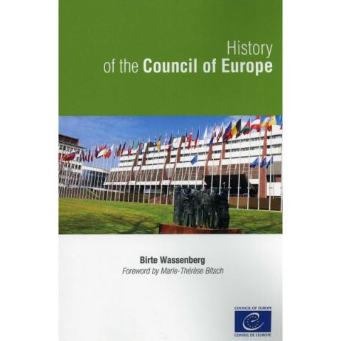 History of the Council of Europe book cover