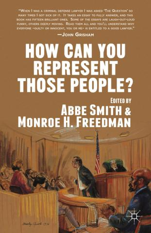 How Can You Represent Those People book cover