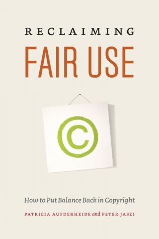 Reclaiming Fair Use book cover