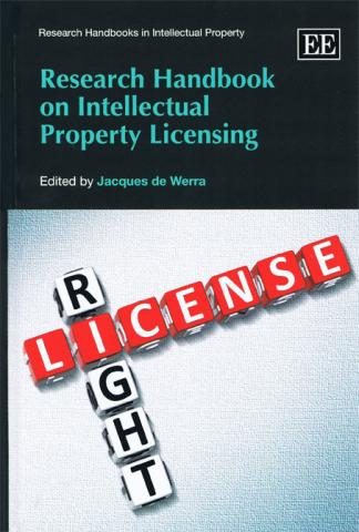 Research Handbook on Intellectual Property Licensing book cover