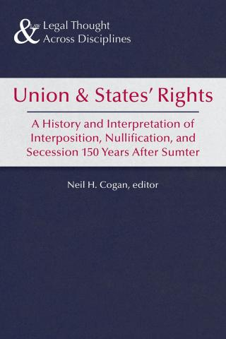 Union & States' Rights book cover