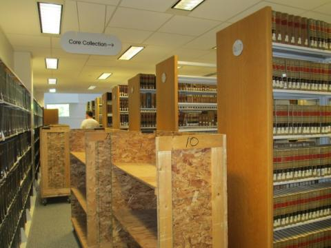 Law Library Move